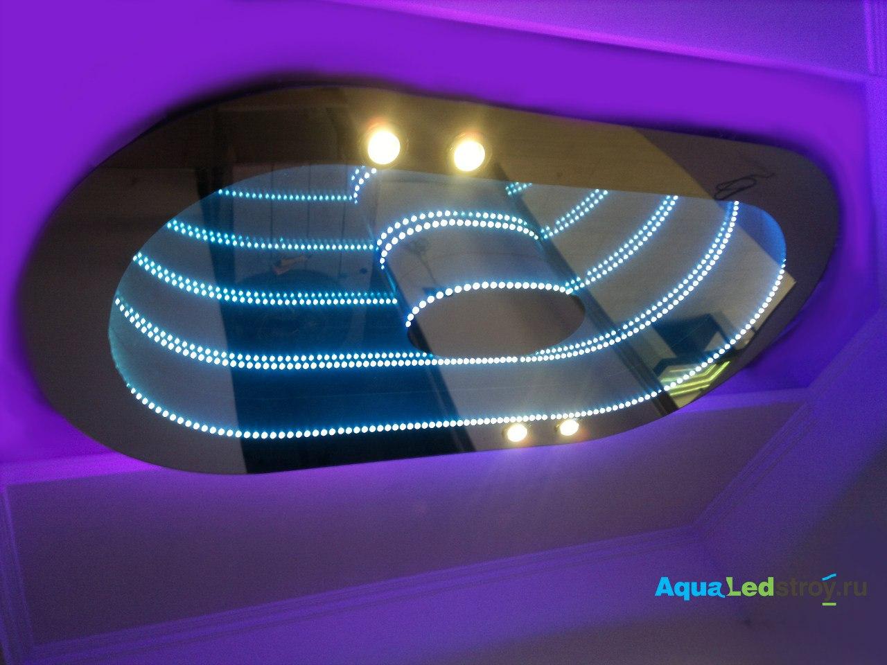Световые панели на потолок своими руками