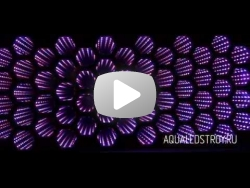 Зеркало с эффектом бесконечности Пчелиные соты